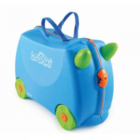 koffer Ride-On Terrance 18L blau