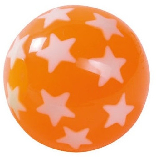 Stuiterbal STARS: 45 MM ORANGE