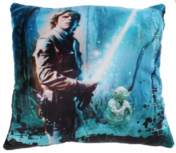 Star Wars Sky Walker Kissen blau 34 x 34 x 11 cm
