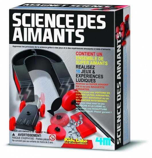 Kidzlabs MAGNET SCIENCE FRENCH VERSION