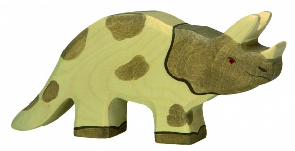 WOOD TRICERATOPS