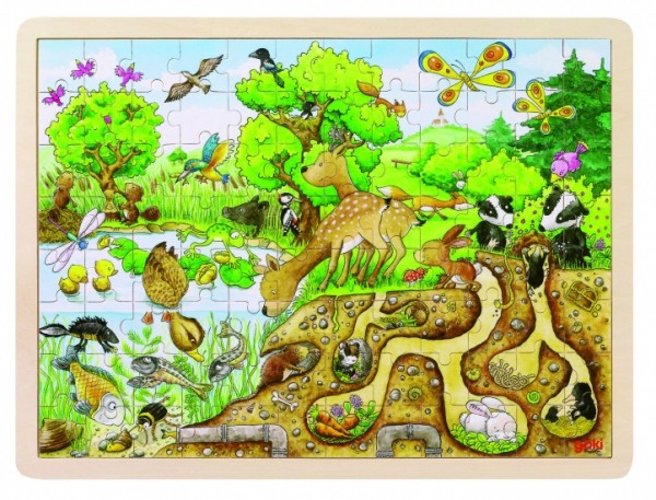 PUZZLE: DISCOVERY IN DER NATUR 96 STÜCK