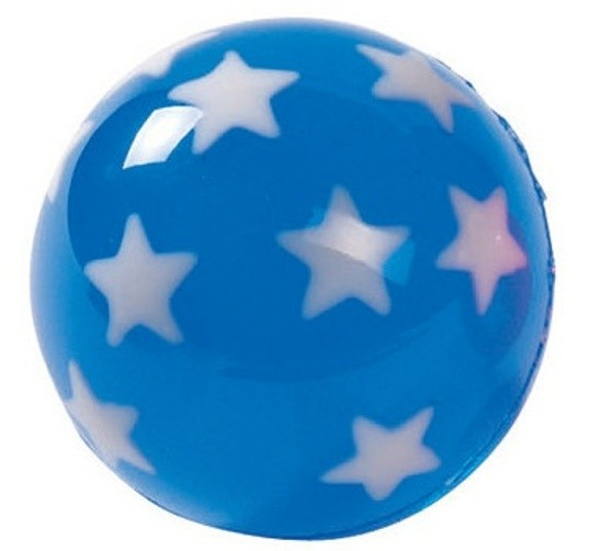 Stuiterbal STARS: 45 MM BLUE