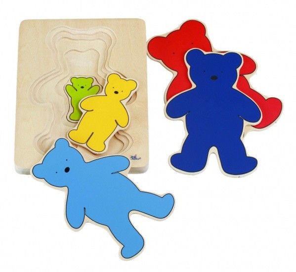 BEAR 5 Layers Puzzle-5-teilig