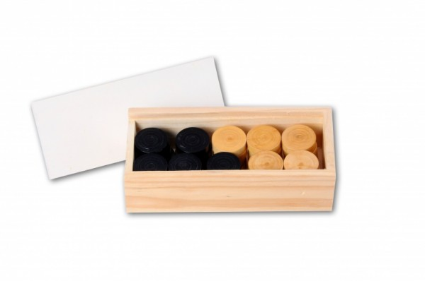 holzkontrolleure in Box 3 cm lang