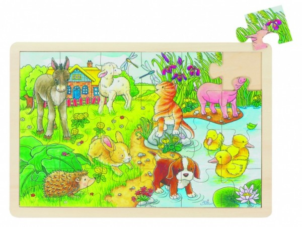 PUZZLE: SMALL Jungtiere 24 PIECES