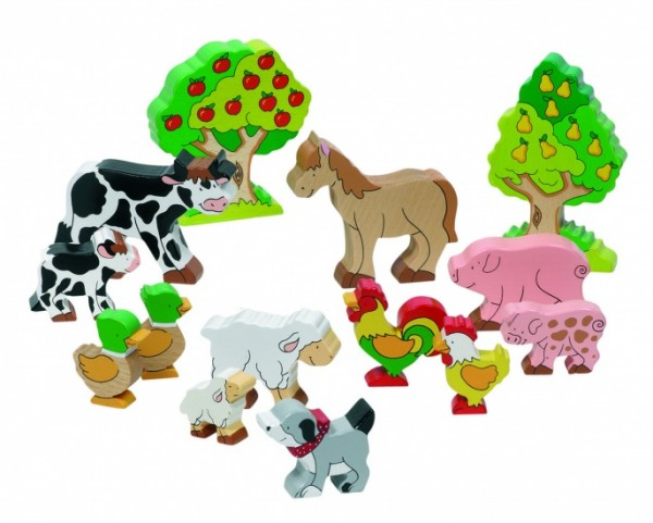 HOLZ FARMS SET 12 TIERE