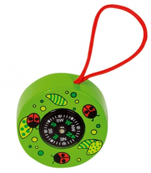 COMPASS TIERE: GREEN 5 CM