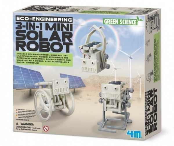 Eco Technik 3 in 1 Minisolarroboter
