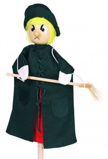 WITCH PUPPET 27CM