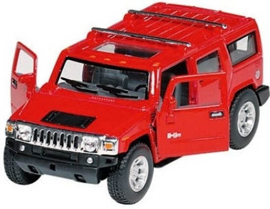 METALS HUMMER H2 SUV: 12,5 cm rot