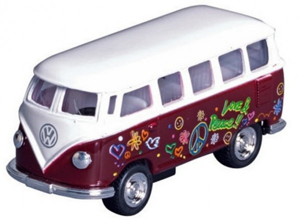 METAL CLASSIC VOLKSWAGEN BUS (1962): BROWN